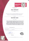 ANAB ISO Certification
